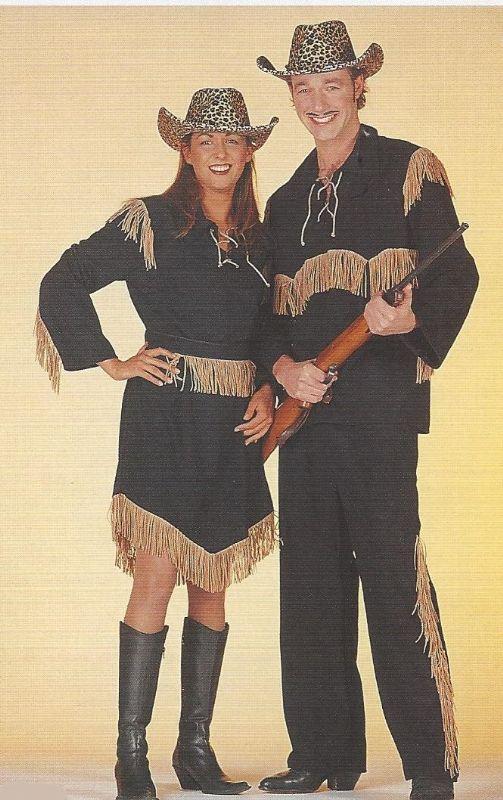 cowboy en indianen kleding